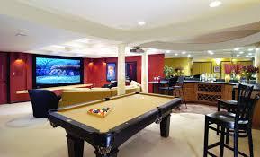 Entertainment Room Design Prepossessing Basement Entertainment Room Brucall  Design Inspiration