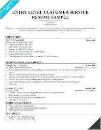 Skills Customer Service Resume Englishor Com