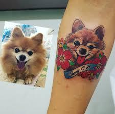 Fotogalerie Psi Jako Tetování Líbí Se Vám Pejskovánícz