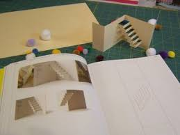 Popup Book Template Free Pop Up Staircase Pattern From The New Book The