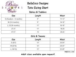 Tutu Measurement Chart Tulle Size Chart Fashion Dresses