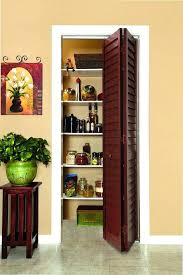 door louver cherry pantry doors bifold bi fold closet home depot