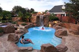 inground pools with waterfalls and slides. Inground Pool Waterfalls Breathtaking Waterfall Design Ideas Swimming Rock Slide Pools With And Slides
