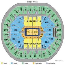 Oracle Arena Seating Chart Oracle Arena Seating Charts