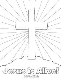 A Printable Coloring Pages And Color Sheets Luxury Easter Jesus Free