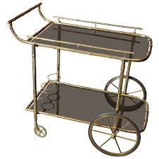 tea or drinks trolley bar cart attributed to jacques adnet at stdibs