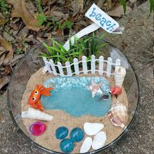 fairy garden kit miniature beach garden fairy garden supplies fairy beach kit
