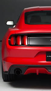 2015 ford mustang iphone wallpaper. Modren Mustang 2015 Ford Mustang Back View IPhone 5S  SE Wallpaper To Iphone Wallpaper 1