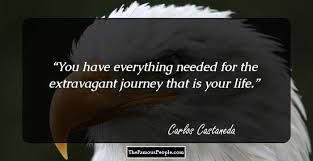 Carlos Castaneda Quotes Fascinating 48 Uplifting Quotes By Carlos Castaneda That Will Foster New Gusto