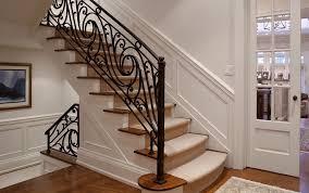 Wrought Iron Stair Railing Design
