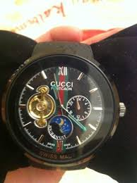 gucci 1142. gucci mens or ladies pantcaon 1142 - luxury swiss automatic watch authentic | #465057385