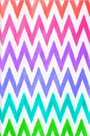 Rainbow chevron wallpaper pattern