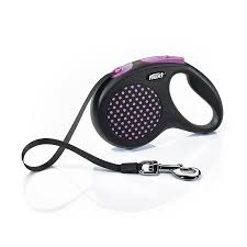Flexi Design Retractable Lead Flexi Design Tape Leash Small Medium Large Stop