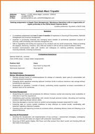 Logistics Resume Sop Proposal