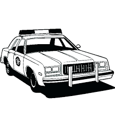 Police Car Coloring Pages To Print Police Car Coloring Pages