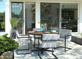 room and board outdoor furniture view in gallery round table from covers