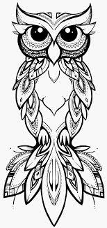 Kleurplaat Mandala Uil Schets Coco Kleurplaatunicornorg