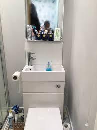 toilet sink combination unit