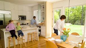 Small Kitchen And Dining Simple Kitchen And Dining Room Paint Colors With L 1200x901
