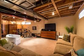lighting for basement ceiling. Best Basement Lighting For Your Design Ideas: Unfinished Ceiling G