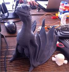 image of game of thrones 3d models to 3d print drogon