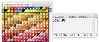 Adobe Pantone Color Chart Using Pantone Swatches In Illustrator
