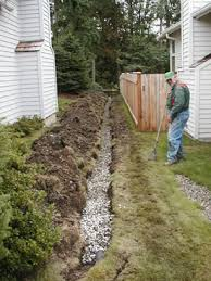 drainage ditch drainage landscaping services