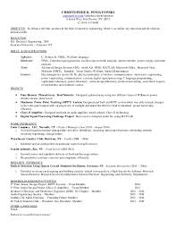 Resume Objective Generator Best Of CRP Resume February 24 Updated