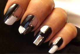 Easy Nail Designs With Nail Tape I feel polished easy striping