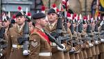 The Royal Regiment of Fusiliers mark 50th anniversary with Warwick Freedom Parade