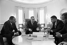 lbj oval office. Meeting With Civil Rights Leaders Rev. Martin Luther King Jr. (left), Whitney Young, And James Farmer In The Oval Office 1964 Lbj
