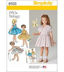 Vintage Simplicity Patterns Unique Inspiration Design