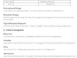 Construction Change Order Form Custom Change Order Template Excel Lvmag