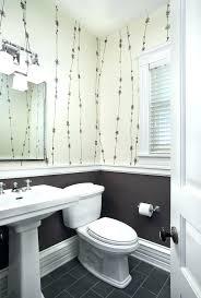 chair rail bathroom. Beautiful Chair Bathroom Chair Rail Powder Room  Transitional With Pedestal Sink   And Chair Rail Bathroom