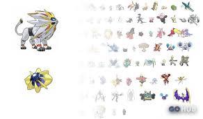 Pokemon Sun And Moon Pokedex Leak Shows Legendary Pre