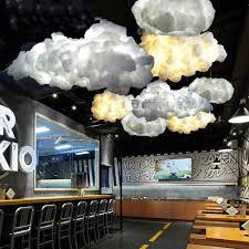 Injuicy Modernen Led Seide Wolken Pendelleuchte Baumwolle H