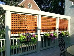 privacy screens outdoor decks wall ideas best deck on screen home interiors catalog for uk