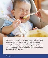 Chuyên gia dinh dưỡng chỉ rõ 10 sai lầm khi cho con ăn rất nhiều mẹ mắc phải