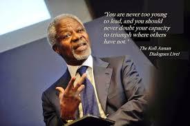 Kofi Annan Education Quotes. QuotesGram via Relatably.com