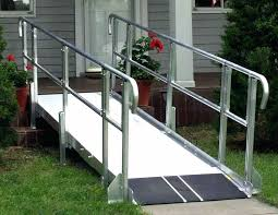 build wheelchair ramp over stairs assistance does home depot carries ramps