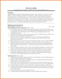 Ideas Of Examples Of Resumes Resume Professional Summary Customer