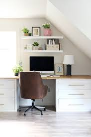 Ikea furniture desks Chair Instead Of Using The Small Black Knobs That Came With The Dressers Switched Them Out For These Super Inexpensive Brasslookalike Pulls Jones Design Company An Ikea Hack Worth Repeating The Studio Desks Jones Design Co