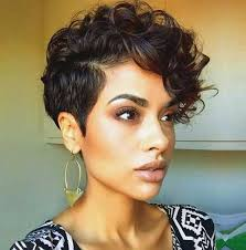 very short curly hairstyles 13