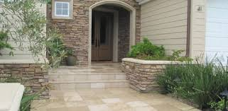 installing tile outside on a concrete