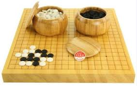 Game With Stones And Wooden Board Weiqi Sets for Sale Weiqi To Go 100