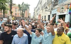 Resultado de imagem para Zé Ronaldo e Rui Costa no cortejo do 2 de Julho