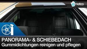 Panoramadach Und Schiebedach Reinigen Und Pflegen Mit Koch Chemie