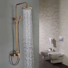 Sprinkle Bathroom Shower System 8 Fixed Round Shower Head And