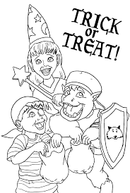 Halloween Coloring Pages Free Printable Halloween