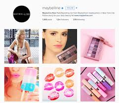 maybelline makeup has similar approach but they ve lored things to their brand and aunce